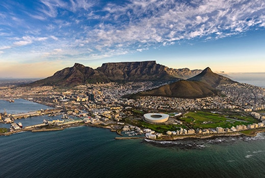 Güney Afrika Dil Okulları Şehirleri