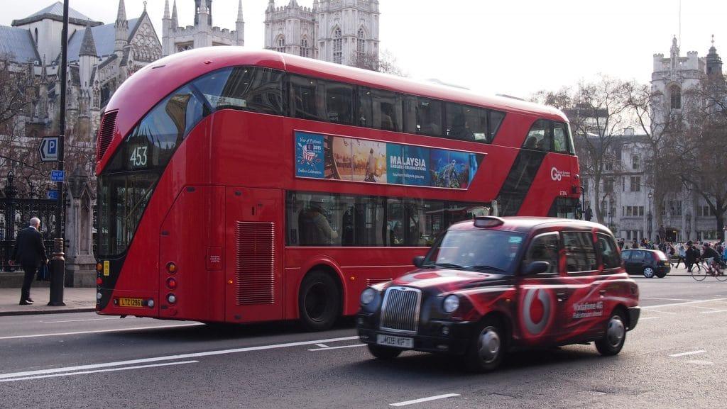 Londra Ulaşım Taxi