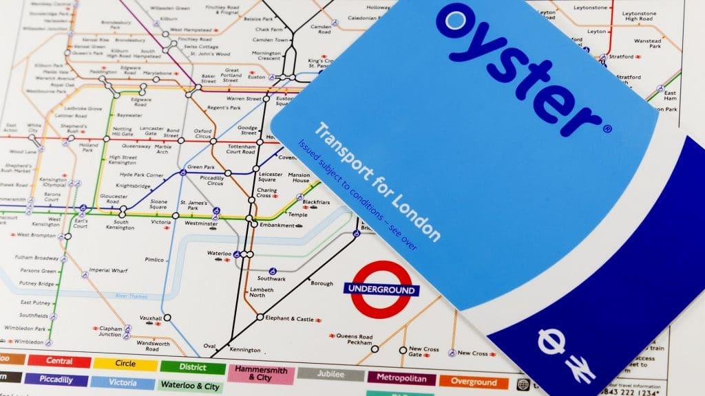 Londra Metro Kartı