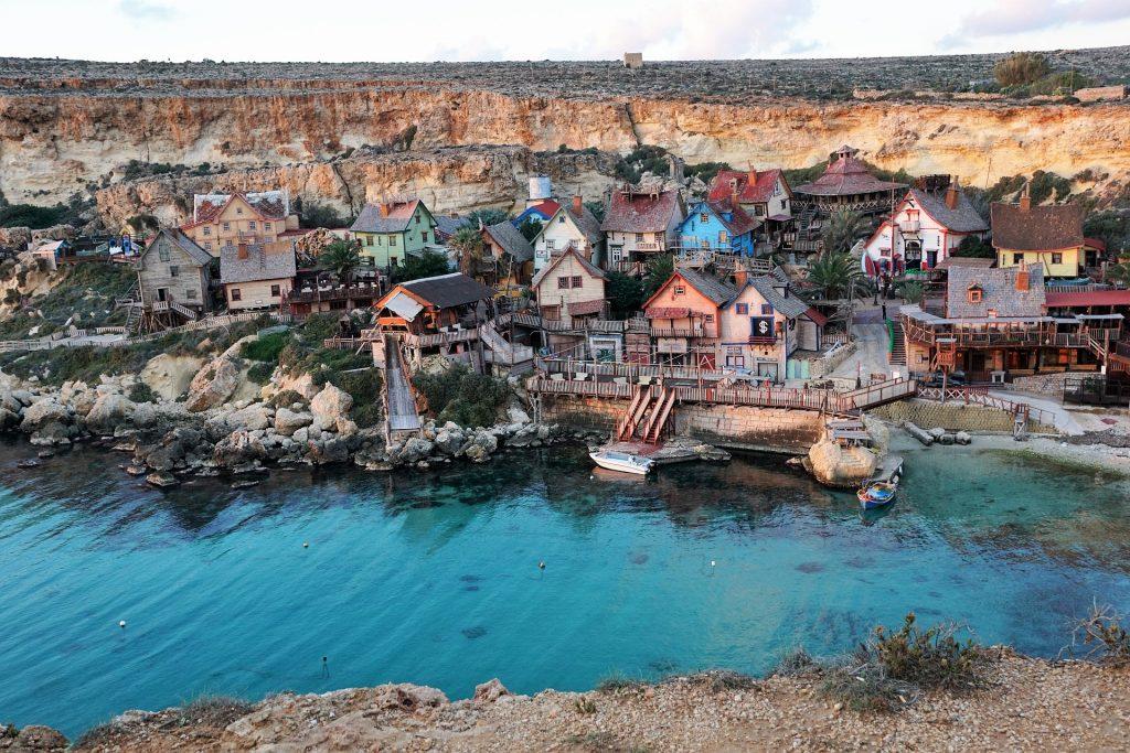 malta popeye village
